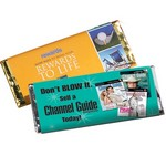 2.25 oz Full Color Chocolate Bar