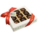 9 Chocolate Truffle Gift Box