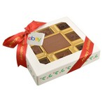 Custom Chocolate Square Gift Box