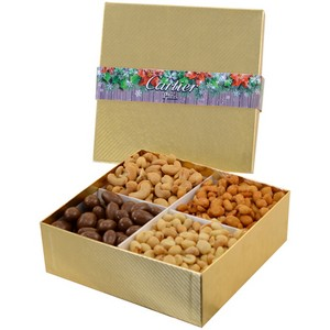 Large 4 Way Nut Gift Box