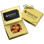 Business Card Box with Chocolate Basketballs