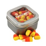 Window Tin with Candy Corn