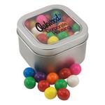 Window Tin with Gumballs