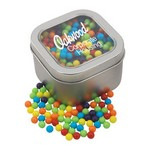 Window Tin with Mini Jawbreakers