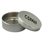 Empty 3 1/2 Round Mint Tin