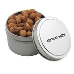 Round Tin with Honey Roasted Peanuts
