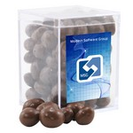 Acrylic Box with Chocolate Covered Peanuts