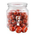 Jar with Chocolate Footballs