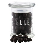 Jar with Chocolate Espresso Beans