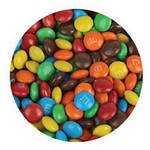 1oz Chocolate Bar Topped with Mini M&M's
