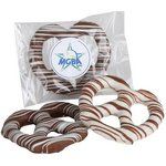 Individually Bagged Chocolate covered Pretzel Ring