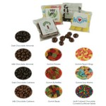 Custom Candy Bags with Milk Chocolate Almonds