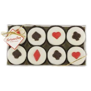 Casino Collection - 8 Piece Chocolate Covered Oreo Cookies