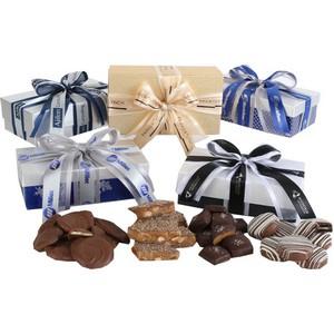 Milk Chocolate Potato Chips in Elegant Gift Box  - 8oz