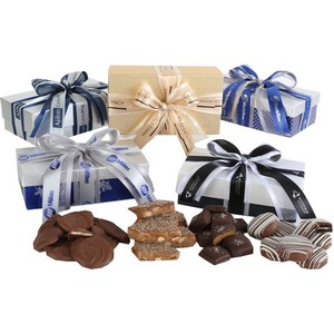 Milk Chocolate Almond Toffee in Elegant Gift Box 8oz