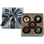 Chocolate Truffle Gift Box - 4 oz Assorted