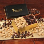 Choice Virginia Peanuts & Chocolate Covered Peanuts -Black Box