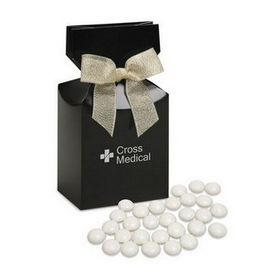 Chocolate Gourmet Mints in Black Gift Box