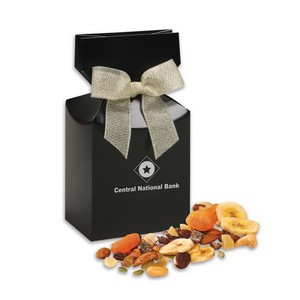 Western Trail Mix in Black Premium Delights Gift Box