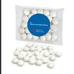 Custom Labeled Chocolate Gourmet Mints Individual Treat Bags