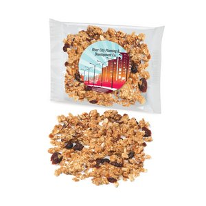Custom Labeled Cranberry Almond Granola Individual Treat Bags