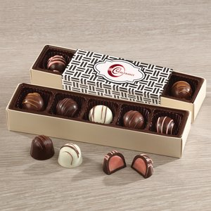 Assorted Truffles Flight with Weave Wrap