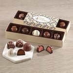 Assorted Truffles Flight with Zigzag Wrap