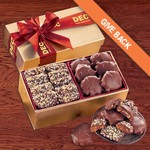 Toffee & Turtles in Gold Gift Box - Red Ribbon