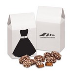 Little Black Dress Gift Box with English Butter Toffee