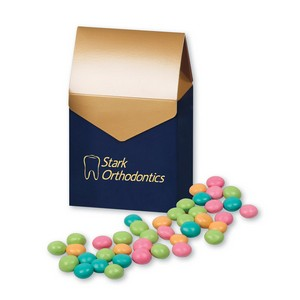 Chocolate Gourmet Mints in Gable Top Gift Box