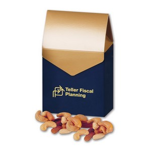 Deluxe Mixed Nuts in Gable Top Gift Box