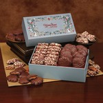 Toffee & Turtles in Holiday Pattern Gift Box