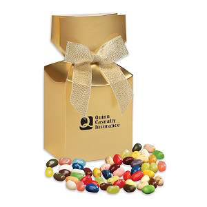 Jelly Belly Jelly Beans in Gold Premium Delights Gift Box