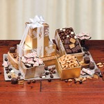Glimmering Winter Tower of Treats