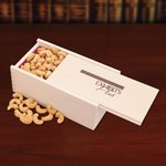 Extra Fancy Jumbo Cashews in Wooden Collector's Box