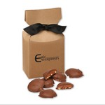 Pecan Turtles in Kraft Premium Delights Gift Box