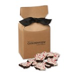 Peppermint Bark in Kraft Premium Delights Gift Box