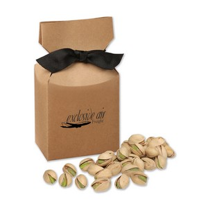 Jumbo California Pistachios in Kraft Premium Delights Gift Box