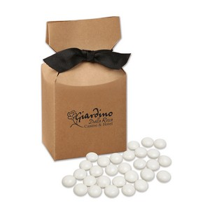 Chocolate Gourmet Mints in Kraft Gift Box