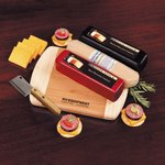 Wisconsin Flavors - Cheese and Summer Sausage with Board