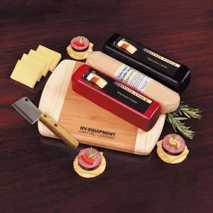 Shelf-Stable Wisconsin Flavors - 3 Cheeses and Summer Sausage