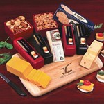 Deluxe Cheese Sampler - 5 Cheeses, Nuts and Crackers