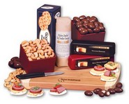 Shelf-Stable Gourmet Fare - Cheese, Nuts, Crackers and Sausage