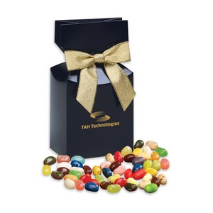 Jelly Belly Jelly Beans in Navy Premium Delights Gift Box