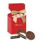 Chocolate Covered Oreo® Cookies in Red Premium Delights Gift Box