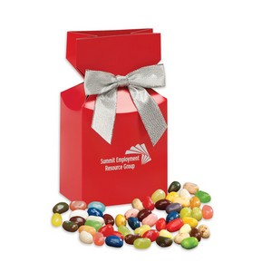 Jelly Belly Jelly Beans in Red Premium Delights Gift Box