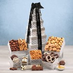 Silver Delights Sweet & Savory Tower