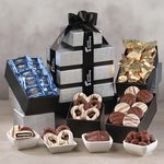 Individually-Wrapped  Chocolate Heaevn Gift Tower