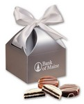 Chocolate Covered Oreo® Cookies in Silver Gift Box