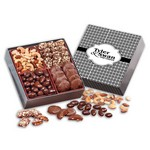 Gourmet Holiday Gift Box with Weave Sleeve